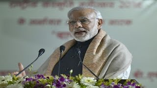 PM's Speech at Inauguration & Laying Foundation Stone of various projects, DLW Ground, (Varanasi)