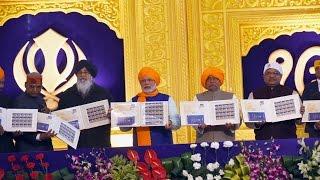 PM Narendra Modi at 350th Birth Anniversary Celebration of Shri Guru Gobing Singh Ji Maharaj | PMO