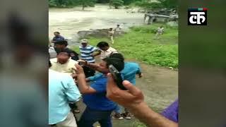 भोपाल: केरवा डैम का गेट खुलने से बढ़े जलस्तर में फंसे दो मछुआरों का किया गया रेस्क्यू