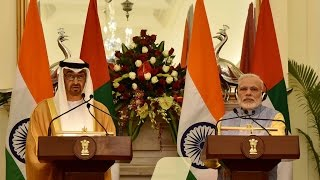 PM Narendra Modi's Speech at Exchange of Agreements & Press Statement with Crown Prince of Abu Dhabi