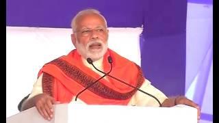 PM Narendra Modi addresses a gathering in Surat, Gujarat | PMO