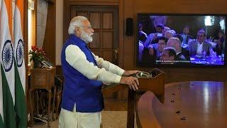 PM Narendra Modi addressing International Diamond Conferencing via VC, Mumbai | PMO