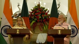 PM Modi at the Joint Press Statement with Bangladesh PM Sheikh Hasina, New Delhi | PMO