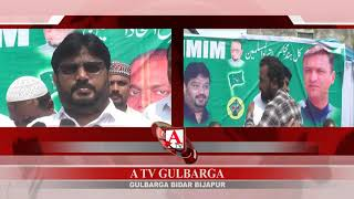Gulbarga Crusher Transport Owner & Mechanics Ki AIMIM Me Joining A.Tv News 20-8-2019