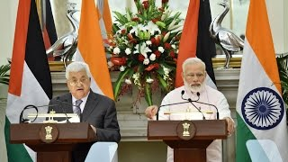 PM Modi at Press Statement & Exchange of Agreements with Palestine President Mr. Mahmoud Abbas | PMO