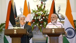 PM's Speech: Press Statement & Exchange of Agreements with Palestine President Mr. Mahmoud Abbas