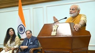PM Modis Speech at release of Platinum Jubilee Milestone Book of Tata memorial via VC | PMO