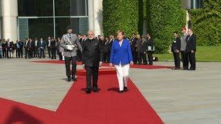 PM Narendra Modi receives Ceremonial Welcome in Berlin, Germany | PMO