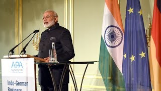 PM Narendra Modi's Speech at the Indo-German Business Summit in Berlin, Germany | PMO