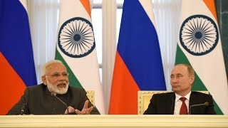 PM's Speech at Exchange of Agreements and Press Statements with President of Russia Vladimir Putin