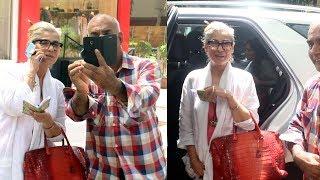 Dimple Kapadia Spotted At Vandana Clothes Store Khar