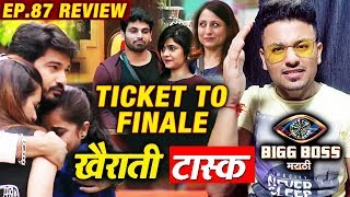 Ticket To Finale UNFAIR Task | Bigg Boss Marathi 2 Ep.87 Review