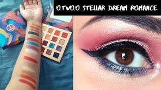 O.TWO.O STELLAR DREAM EYESHADOW TRY ON | WEDDING GUEST MAKEUP | NIDHI KATIYAR