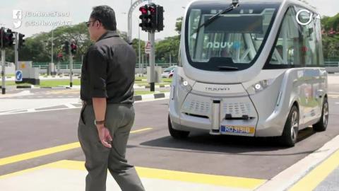 सिंगापुर में अब चलेगी बिना ड्राइवर की बसें, देखिये कैसे करेगा काम