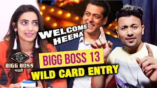 Heena Panchal WANTS To Enter Salman's Bigg Boss 13 As WILD CARD ENTRY | Bigg Boss Marathi 2