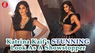 Katrina Kaif Looks STUNNING As A Showstopper For Manish Malhotra At Lakme Fashion Week