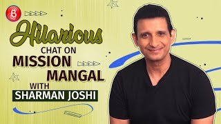 Sharman Joshi's HILARIOUS Chat On Akshay Kumar's Mission Mangal