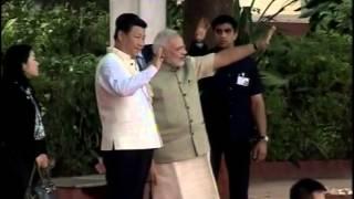 Chinese President Xi Jinping and PM Modi visit Sabarmati Ashram | PMO