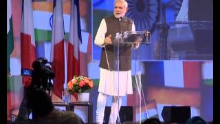 PM Modi's address during Community reception in Paris | PMO