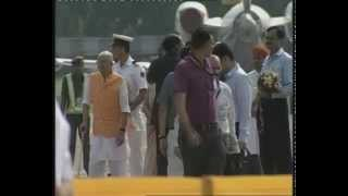 PM ARRIVES IN AHMEDABAD | PMO