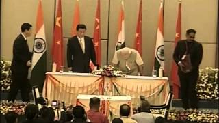India-China ink bilateral agreements | PMO