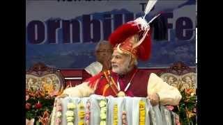 PM Narendra  Modi at Hombill Festival Kohima | PMO