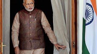 PM Narendra Modi at Inauguration of new railway line from Hazaribag to Kodarma.   PMO