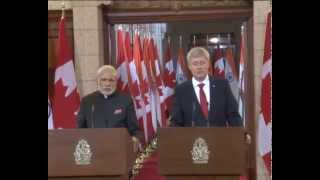 PM in Canada: Agreement Signing Ceremony | PMO