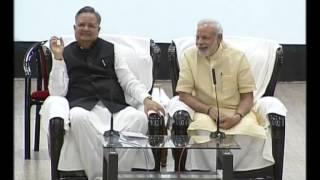 PM Modi's interaction with students at Education City at Jawanga, Dantewada | PMO