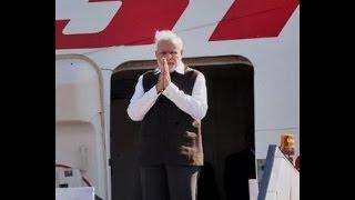 PM Modi's arrival at Xi'an Xianyang International Airport   PMO