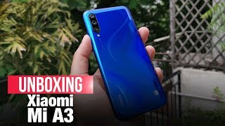 Xiaomi Mi A3: A premium Android One phone with amazing camera capability | Unboxing, Features, Price