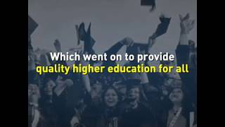 In 1986 Rajiv Gandhi launched National Policy on Education