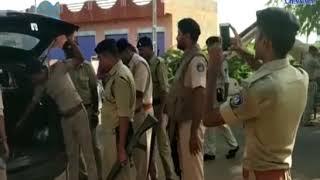 Kutch  Intensive checking by police   ABTAK MEDIA