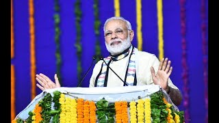 PM Modi dedicates several development projects to the nation in Rajkot, Gujarat | PMO