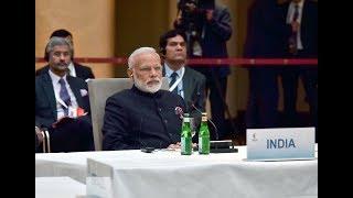 PM Narendra Modi attends informal BRICS leaders meeting in Hamburg, Germany | PMO