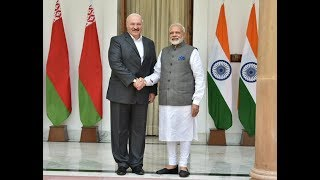PM Modi with Belarus President Mr.Alexander Lukashenko at Joint Press Statements | PMO