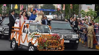 Ahmedabad rolls out red carpet for Japanese PM Shinzo Abe and PM Modi | PMO