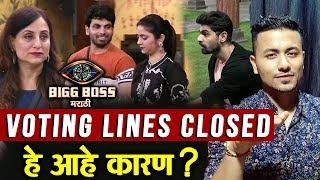 Shiv, Veena, Kishori And Aroh Nominated But VOTING LINES CLOSED; Here's WHY | Bigg Boss Marathi 2