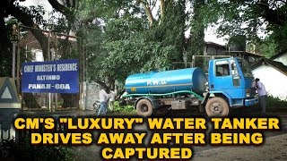 """CM's """"luxury"""" water tanker drives away after being captured"""