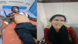 Suleman Nagar Mein Hua Ek Shaks Par Jaan Leva Humla Marital Life Ko Lekar.