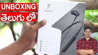 1MORE Piston Fit Wireless Earphones unboxing under 3000/- telugu