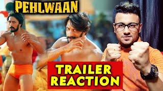 Pehlwaan Trailer Reaction | Review | Kichcha Sudeep | Suniel Shetty | 12th Sept