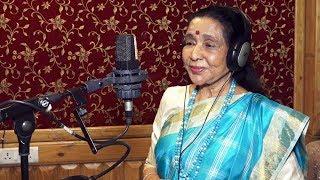 Asha Bhosle & Her Grand Daughter Zanai Bhosle Announce Their Songs Sri Sri Ravi Shankar
