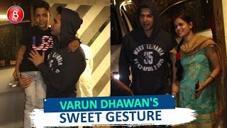 Varun Dhawan's SWEET GESTURE For A Little Kid