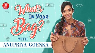 Anupriya Goenka Wants To Steal From Alia Bhatt's Bag - Find Out What! | What's In Your Bag
