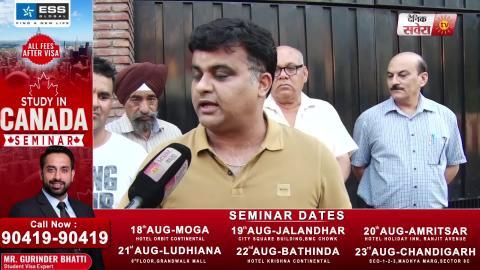 Exclusive Interview: Jalandhar के इन करोड़पतियों को 20 साल से नहीं नसीब हुई सड़क- Pankaj Sharma