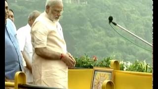 PM Modi dedicates Sardar Sarovar Dam to Nation | PMO