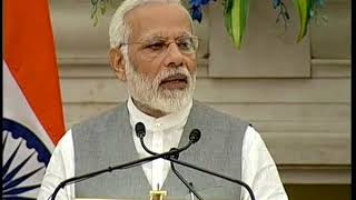 PM Modi's speech at Joint Press Meet with President of European Council & European Commission | PMO