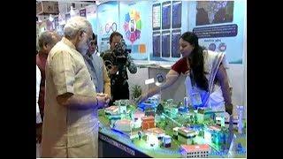 PM Modi at 'Technology and Rural Life' Exhibition at IARI, New Delhi   PMO