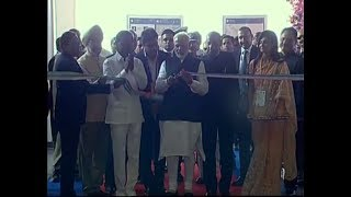 PM Modi unveils the plaque to mark dedication of Hyderabad Metro Project | PMO